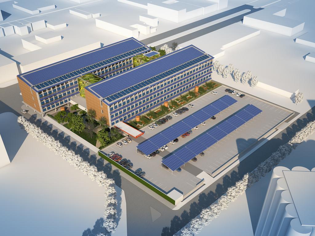 Rendering from Building Information Modeling BIM Consultants in Bellevue, WA