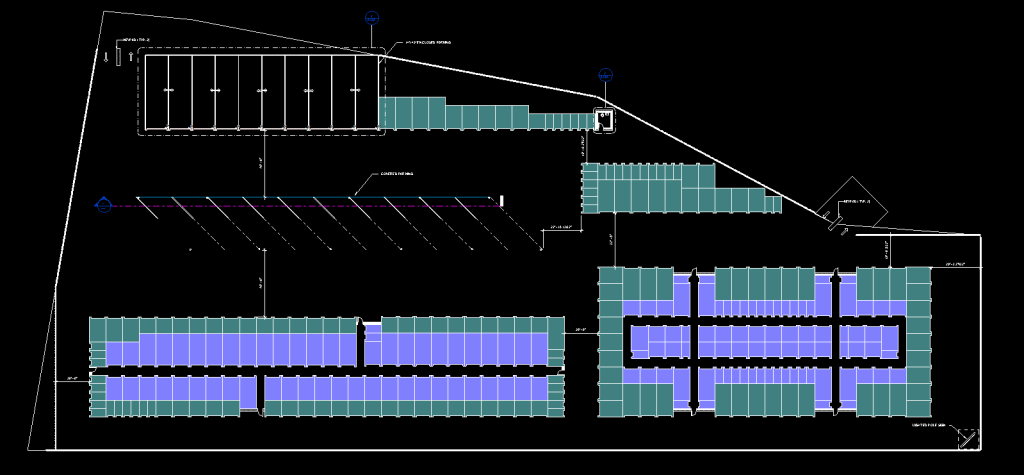 Using revit to design a storage unit facility bim extension for Room planning website