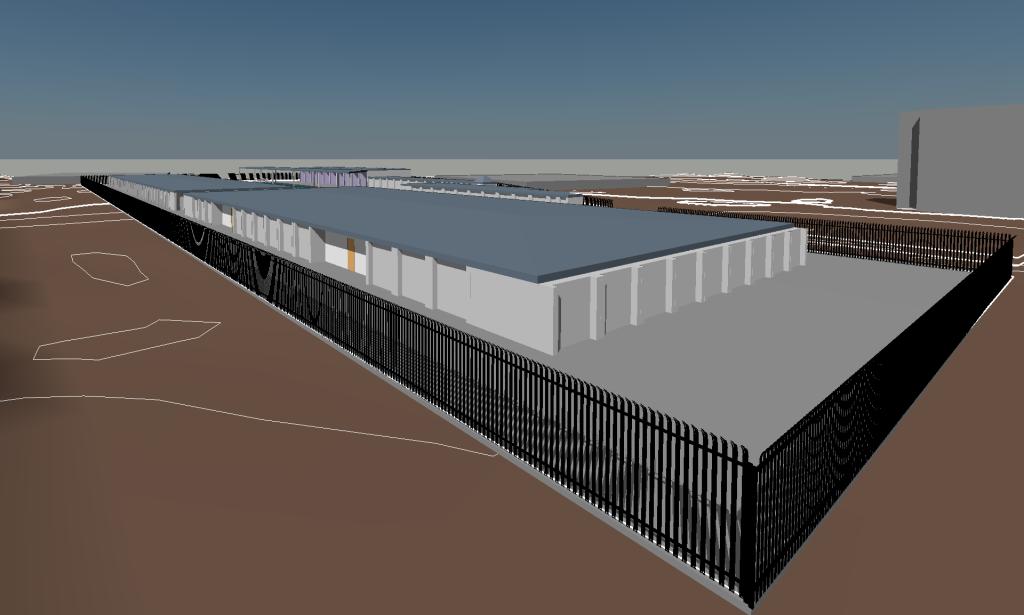 Storage Unit Facility Design in Revit