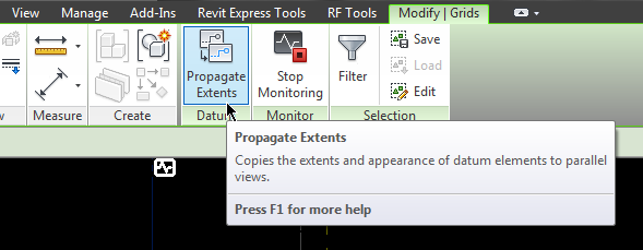 Use Revit to Propagate Extents across multiple views