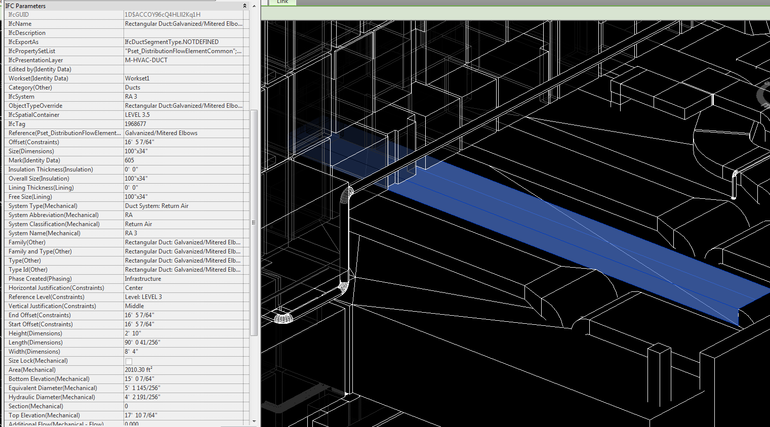 Revit IFC Export - IFC Parameters of Duct and Pipe