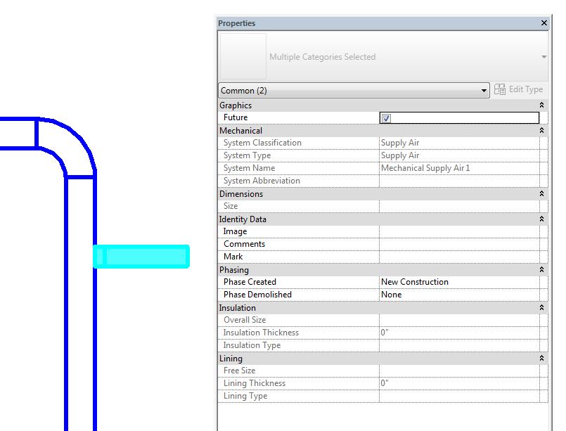 Revit parameter showing future phase