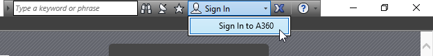 Sign In to A360 from Within Revit to use Collaboration for Revit C4R