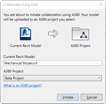 Convert a local central model to a Cloud Model using Collaborate for Revit