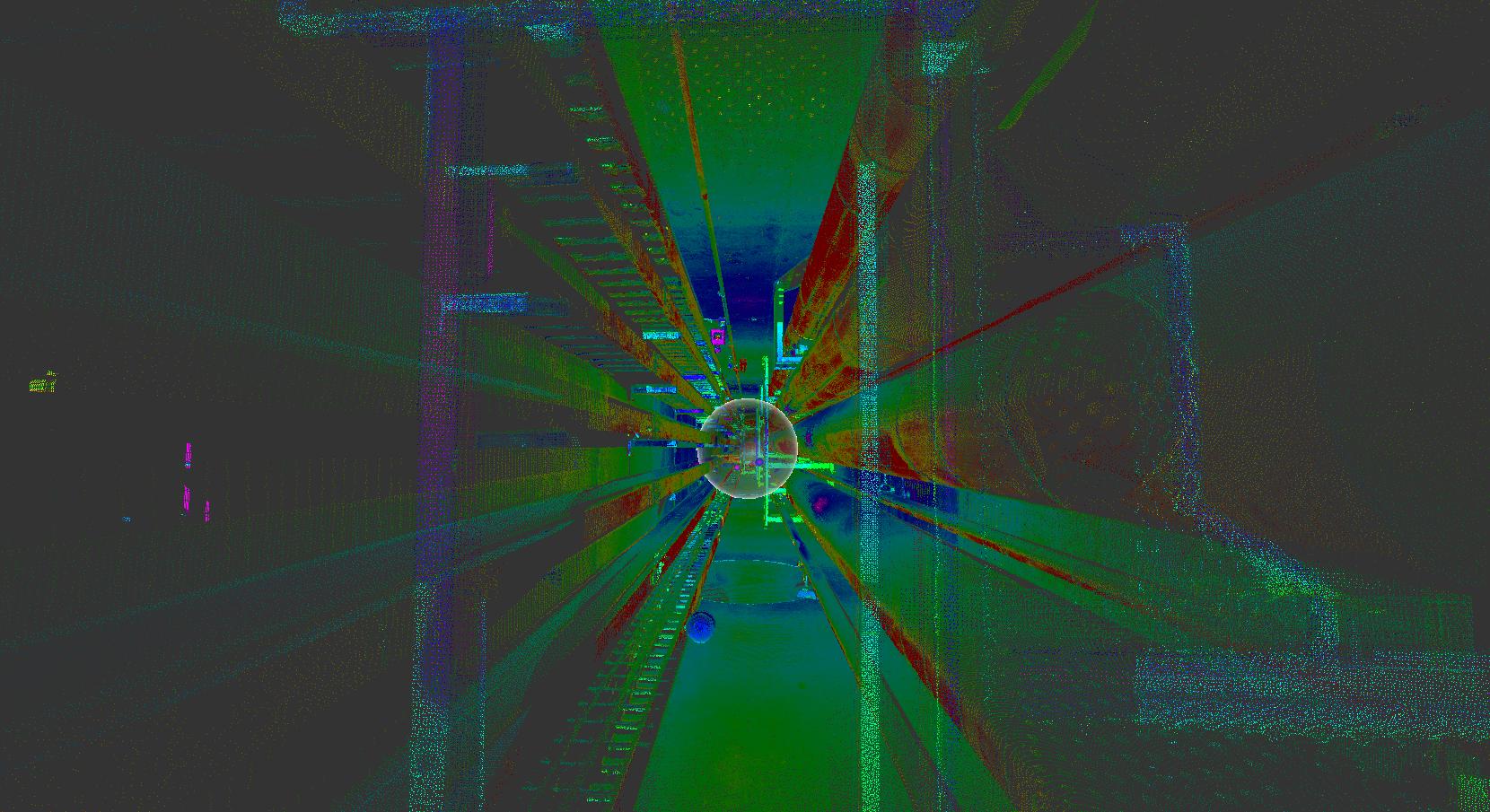 Faro laser scan in Autodesk ReCap