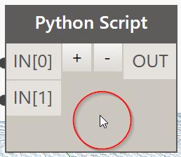 Edit a python script in Dynamo